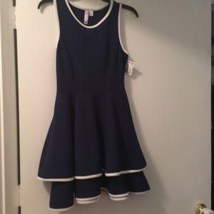 Alya navy dress
